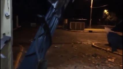 Presídio na Paraíba fica destruído após ataque de bandidos