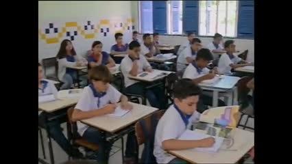 Estudantes se preparam para a prova da Olimpíada Brasileira de Matemática