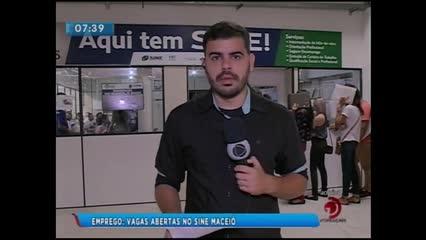 Vagas de empregos disponíveis no Sine Maceió