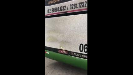 Dono de empresa explica motivo de princípio de incêndio em ônibus
