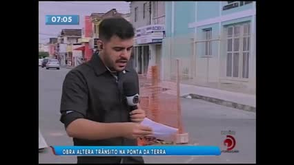 Trânsito será alterado para realização de obra da Casal na Ponta da Terra