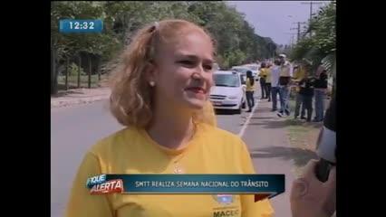 SMTT realiza Semana Nacional do Trânsito
