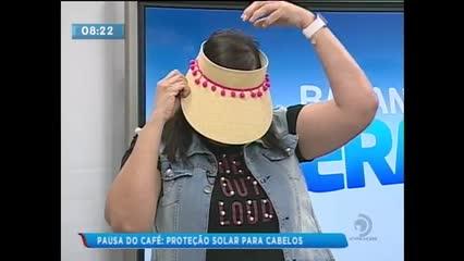 Pausa do Café: Proteção solar para os cabelos