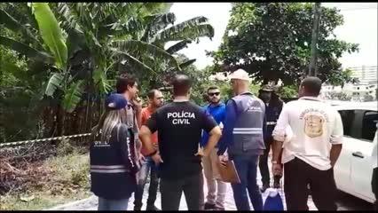 Corpo que pode ser de motorista desaparecido é encontrado na Serraria
