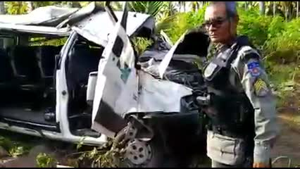 Van capota e deixa feridos na rodovia AL 101, em Jequiá da Praia