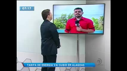Tarifa de energia vai ficar mais cara em Alagoas