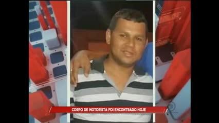 Corpo de motorista desaparecido foi encontrado na Serraria