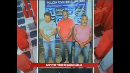 Polícia investiga esquema de desvio de cargas