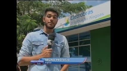 A Eletrobras é a empresa com  maior número de reclamações em Alagoas