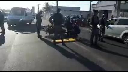 Acidente entre motocicletas deixa dois feridos em Arapiraca