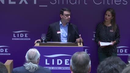 LIDE NEXT SMART CITIES - PAINEL DE ABERTURA