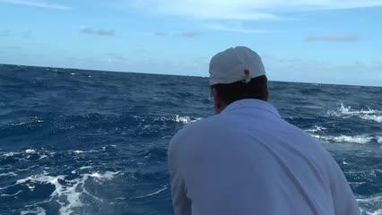 Johnny Hoffmann deixa pescadores de frente com o marlin