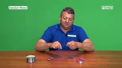 Aprenda a montagem de chicote para a pesca de rodadinha