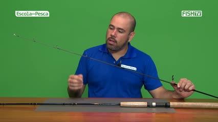 Diferença entre varas de molinete e carretilha