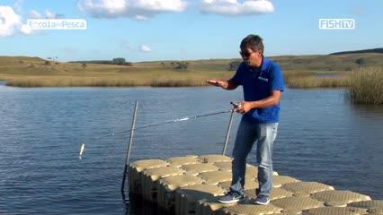 Como fazer arremesso leve sobre a água