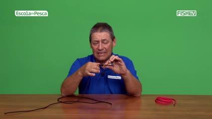 Aprenda a atar a linha diretamente na isca artificial
