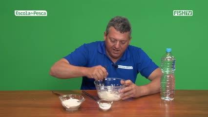 Como fazer isca de meleca