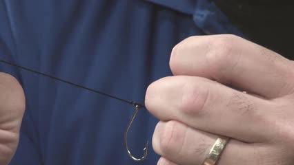 Pernada para peixes que cortam