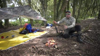Como fazer fogo utilizando a pederneira