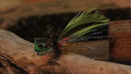 Tube fly popper