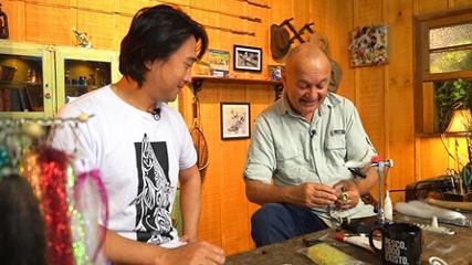 Um arari de atado para os tucunarés