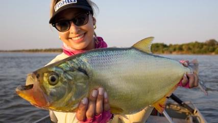 A pesca esportiva de Luis Alves do Araguaia
