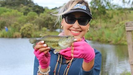 A beleza e a pesca da Serra Gaúcha