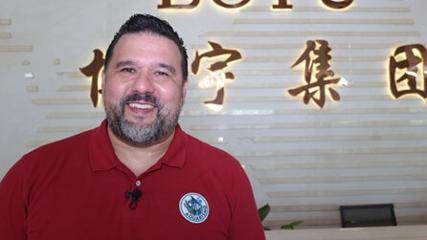 Visita à fábrica da Boyu na China