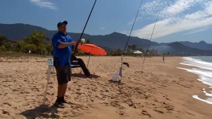 Identificando canais em praia de tombo