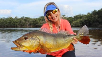 Tucunarés no rio Itapará - Parte 3