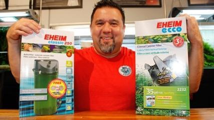 Conheça a empresa Eheim e sua representação no aquarismo