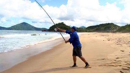 A importância da linha de arranque na pescaria