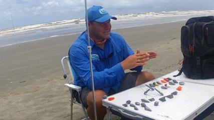 Tipos de chumbos e suas funções na pescaria de praia