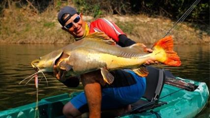 Expedição Bararati Caiaque selvagem - Jump jig