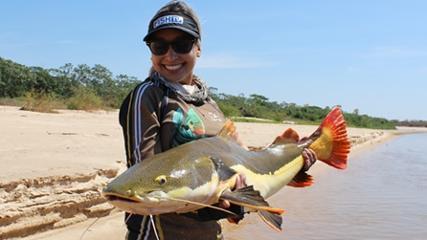 Uma aventura com a Tribo da Pesca na pousada Asa Branca
