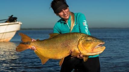 Variada pescaria na Argentina