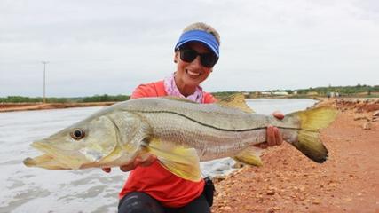 Pescaria de robalos no Aquafort