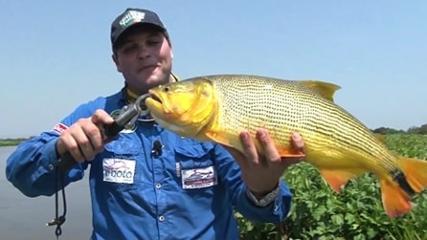 Pescaria pantaneira no rio Paraguai
