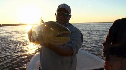Diversão garantida com baitcasting na pesca de dourado