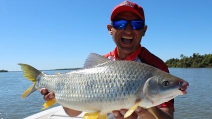 Piaparas e Piracanjubas em águas argentinas