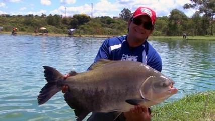 Pesca de fundo com isca natural