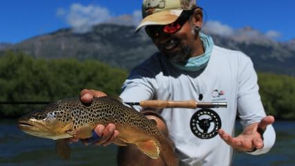 Rio Futaleufu e suas fantásticas trutas marrons
