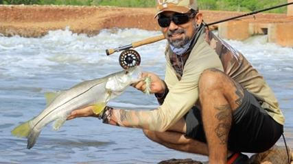 A pegada do Robalo nos canais do Aquafort