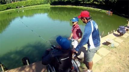 Pescaria em família é garantia de sucesso
