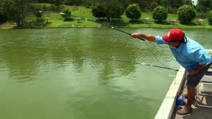 Novidades de pesca com Denis Garbo