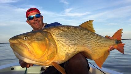 Pescaria de rodada no rio Paranazão
