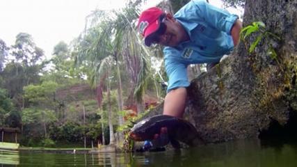 Denis Garbo em pescaria inédita