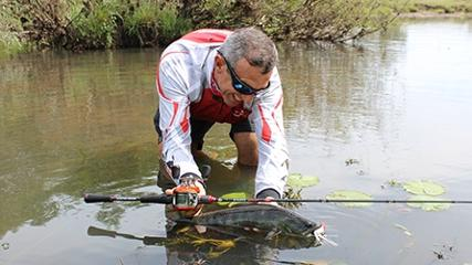 Pescando traíras em Uruguaiana