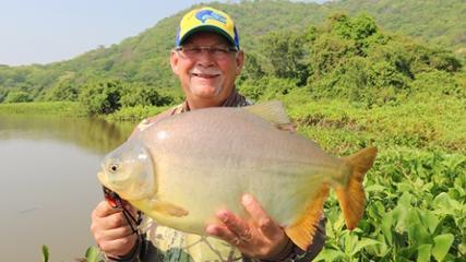 Expedição Pantanal - Pescaria apoitada de pacus com massa