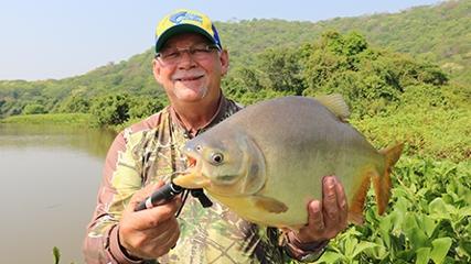Pesca pantaneira de pacus